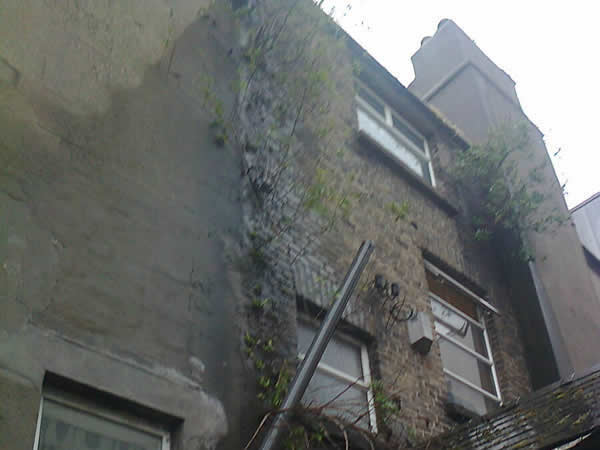 Commercial Property Renovation - before picture - Capel Street, Dublin 1.